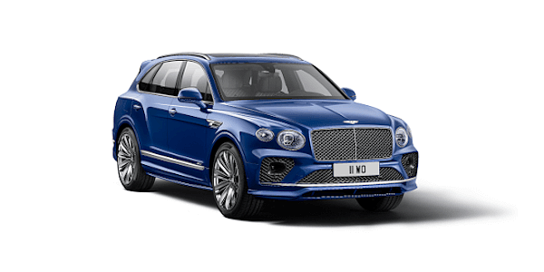 New Bentayga Speed
